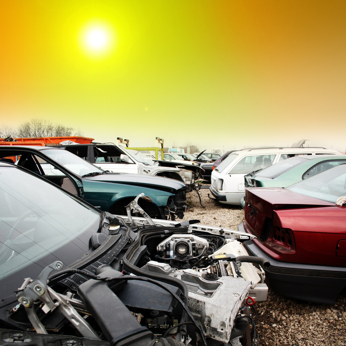 Scrap a car for cash in Guildford Surrey